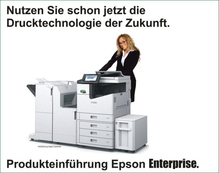 News Januar – Produkteinführung Epson Enterprise