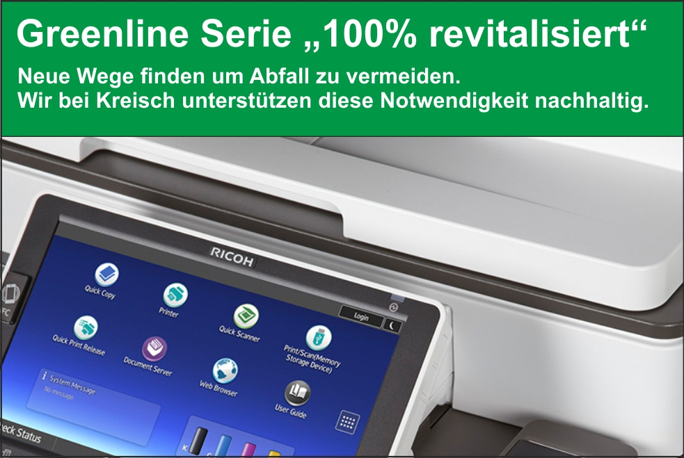 "News August – Greenline Serie ""100% revitalisiert"""