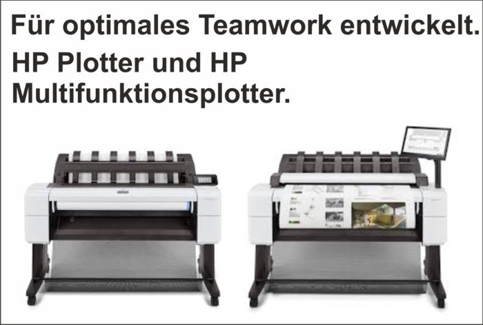 News Januar – HP T1600 Plotter und HP T2600 Multifunktionsplotter