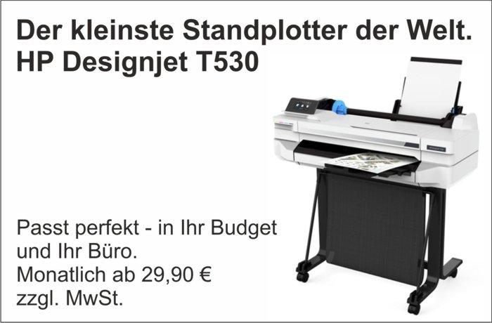 Standplotter HP Designjet T530