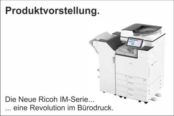 News Juni – Produktvorstellung der neuen Ricoh IM-Serie